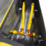 Riders safety cell, including 4 point seat belt, foam composite carbon fibre roll cage & side intrusion protection.