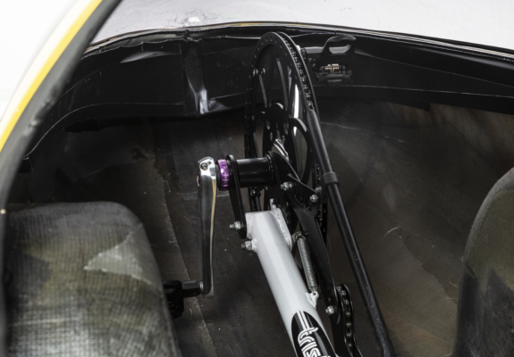 Indexed Crank System allows the rider to instantly move the pedals to their ideal pedaling position