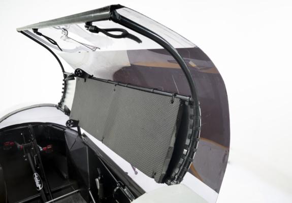 Overhead protection includes aluminium panel & EVA foam